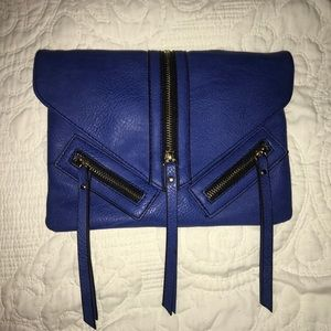Royal Blue Crossbody/Clutch